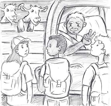 goat truck