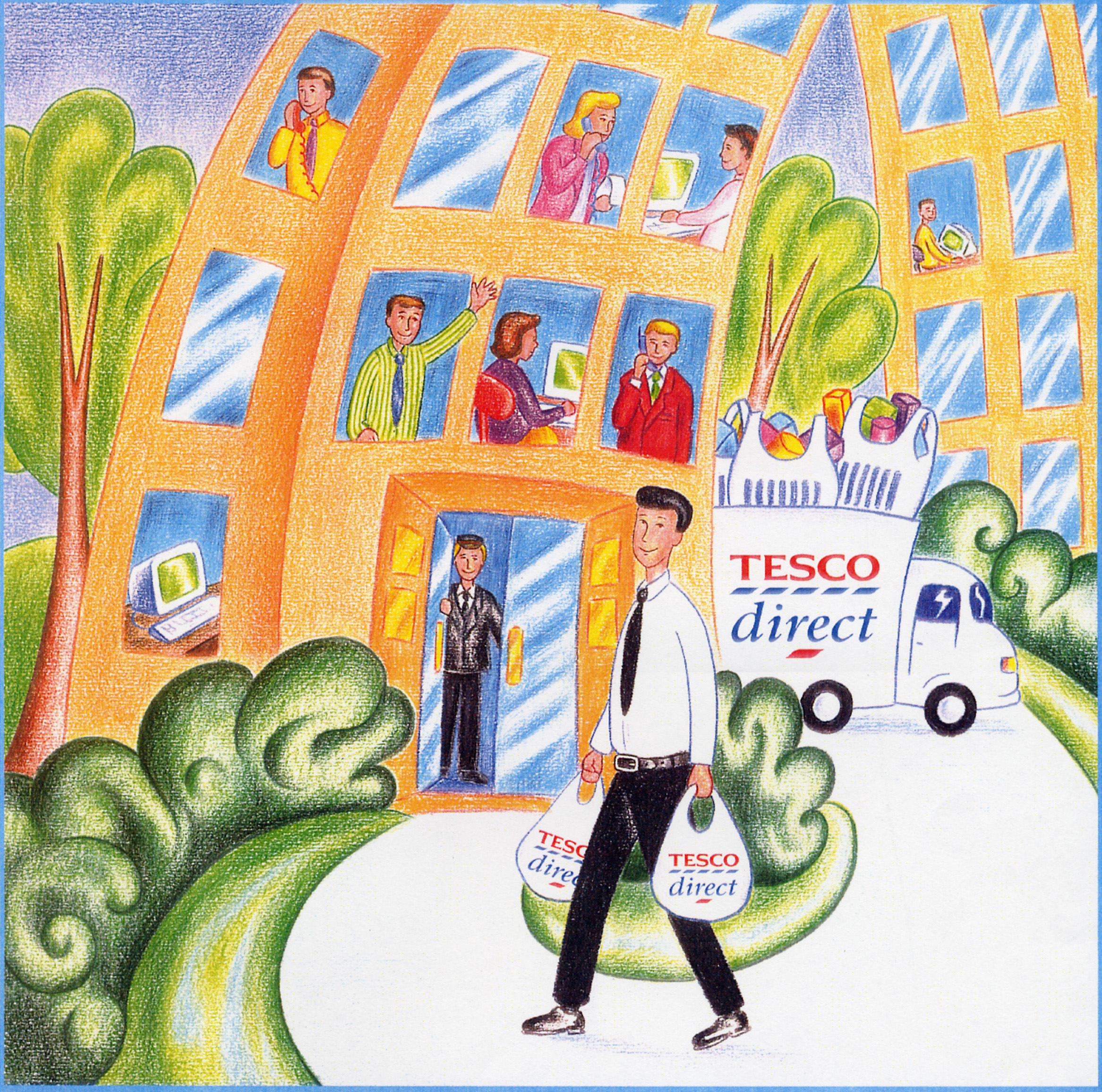 tesco office